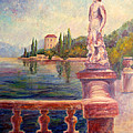 Lake Como View by Carolyn Jarvis