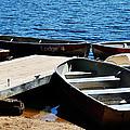 Lake Dock by Pam Romjue