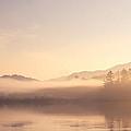 Lake Eden Vermont Sunrise by Stephanie McDowell