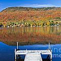 Lake Elmore Autumn by Alan L Graham