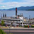 Lake George Cruise by Allan Morrison