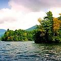 Lake George Islands In Summer by Linda Seifried