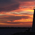 Lake Hefner Lighthouse by Stacie Adams
