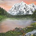Lake In Austria by Jean Walker