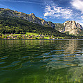 Lake In High Mountains by Stockr