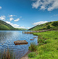 Lake In Wales by Adrian Evans