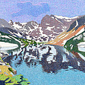 Lake Isabelle Colorado by Dan Miller