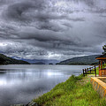 Lake Koocanusa At Libby Dam by Lee Santa