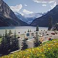 1m3520-h-lake Louise Chateau by Ed  Cooper Photography