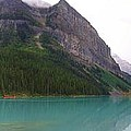 Panoramic Lake Louise, Alberta - Morning Reflections by Ian Mcadie