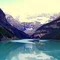 Lake Louise Stillness by Karen Wiles