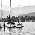 Lake Lucerne Switzerland  by Nian Chen