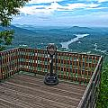 Lake Lure Overlook by Alex Grichenko