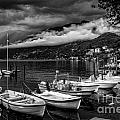 Lake Maggiore Ascona Bw by Timothy Hacker