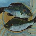 Lake Martin Fish by Carol Oufnac Mahan