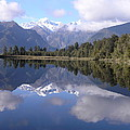Lake Matheson by Olaf Christian