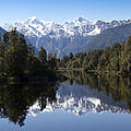 Lake Matheson New Zealand by Peter Lloyd