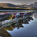Lake Mcdonald by Darlene Bushue