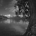 Lake Mcdonald In The Spring by Larry Kjorvestad
