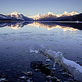 Lake Mcdonald Winter by Jack Bell
