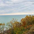 Lake Michigan Fall by Harold Hopkins