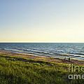 Lake Michigan Shoreline 01 by Thomas Woolworth
