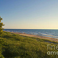 Lake Michigan Shoreline 05 by Thomas Woolworth