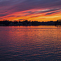 Lake Murray Sunset-2 by Charles Hite