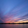 Lake Murray Sunset-3 by Charles Hite