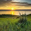 Lake Oahe Sunset by Aaron J Groen