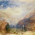 Lake Of Brienz by Joseph Mallord William Turner