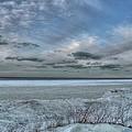 Lake Ontario Snow by Heather Allen