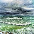 Lake Ontario Waves by Erik Kaplan