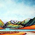 Lake Pearson 1999 Si Nz by Barbara Stirrup