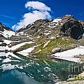 lake Pietra Rossa - Italy by Antonio Scarpi