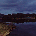 Lake Placid At Night by John Telfer