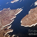 Lake Mead From Above by Eva Kato