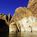 Lake Powell Rock And Sky by Thomas R Fletcher