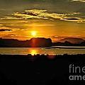 Lake Powell Sunrise by David Burks