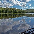 Lake Reflections by David T Wilkinson
