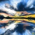 Lake Reflections by Nancy Good