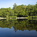 Lake Reflections by Sally Weigand