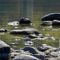 Lake Rocks by Optical Playground By MP Ray