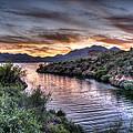 Lake Saguaro Sunset by Anthony Citro
