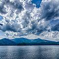 Lake Santeetlah In Great Smoky Mountains Nc by Alex Grichenko