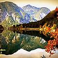 Lake Scene H A by Gert J Rheeders