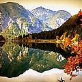 Lake Scene H B by Gert J Rheeders