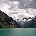 Lake Schlegeis by Thomas Richter
