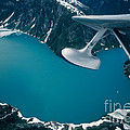 Lake Seen From A Seaplane by Ron Sanford