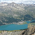 Lake Silvaplana by Olaf Christian
